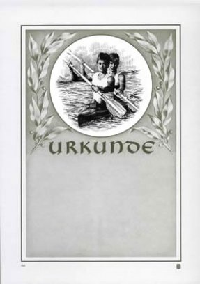 Albert Hoffmann Urkundenverlag Kajak, Kajak, Kajak, Kanu, Rudern   100   1092   Kanu Damen   PC-Urkunden (170 g m²) 50 Stk B00AIMAJ3S | Verschiedene  4e8a98