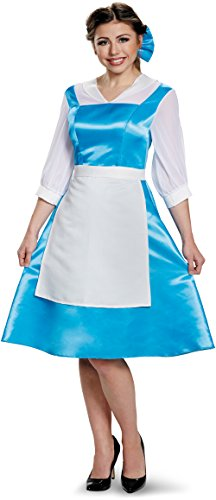 Belle Blue Dress Tween Disney Princess Beauty & The Beast Costume, Medium/7-8 ()