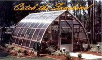Gothic Arch Greenhouse Kits   GAG 1832CTW