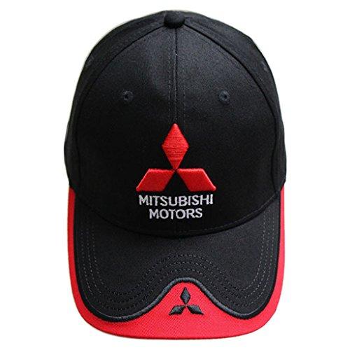 adjustable-moto-gp-racing-f1-baseball-cap-sport-hat-for-mitsubishi-black