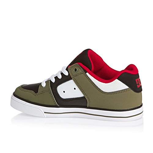 Basses OLIVE BLACK Sneakers Pure Garçon DC Shoes wc8XxCFqnt