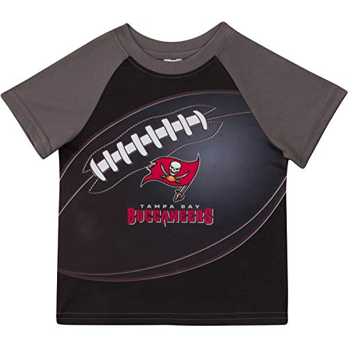 Tampa Bay Buccaneers Cloths - NFL Tampa Bay Buccaneers Unisex Short-Sleeve Tee, Red, 2T