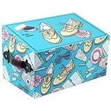 Caja Limpiazapatos con Set de Limpieza. Cuidado del Calzado. Cajas Multiusos. 15.5 x