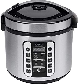 Aroma Housewares Rice Cooker & Food Steamer 20-Cup