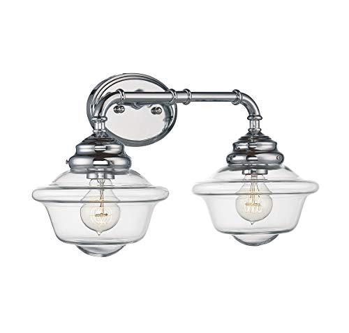Series 2 Light Vanity - Savoy House 8-393-2-11 Fairfield 2-Light Vanity Bar in Chrome