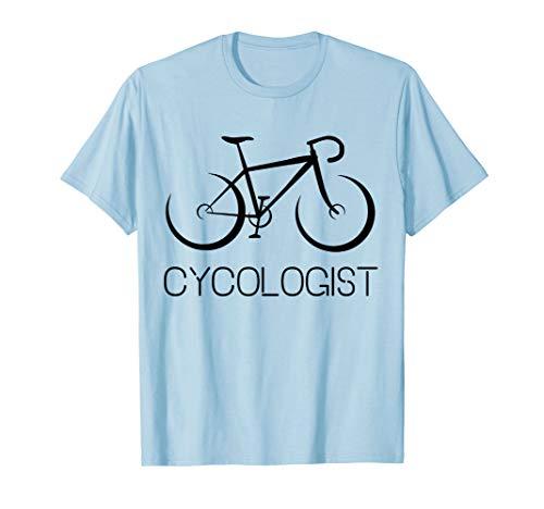 Cycologist Shirt | Psychology Cyclist Bicycle Bike T-Shirt ()