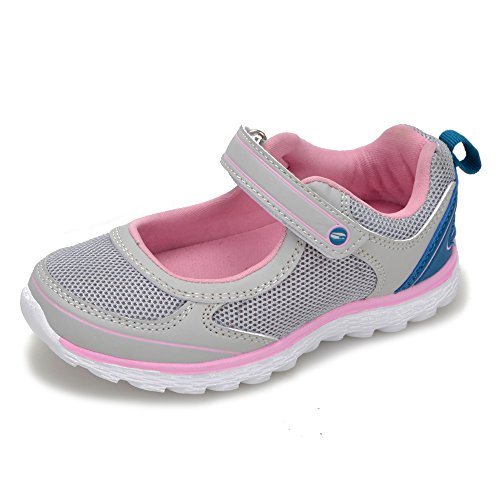 Shoes Sneakers for Girls Kids - Releases 2018 Girls Shoes Flats Loafers(11-11.5 M US Little Kid, Grey)