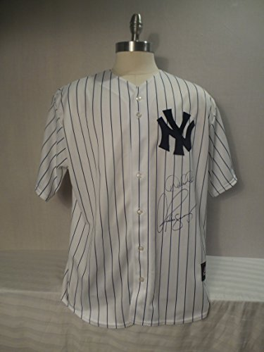 Alex Rodriguez and Derek Jeter Signed New York Yankees Autographed Jersey