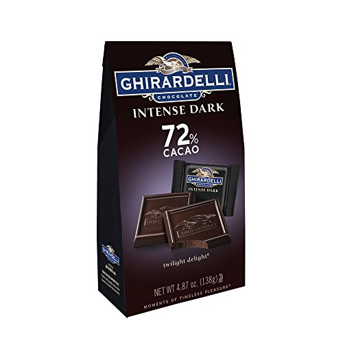 - Ghirardelli Dark Chocolate Twilight Delight 72% Cacao Bar, 4.87 Oz - (6ct Case)