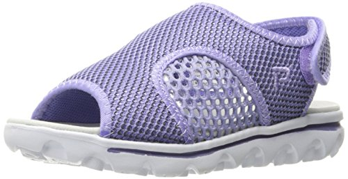 (Propet Women's TravelActiv Ss Sandal, Purple/Black, 10 M US)