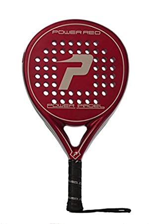 POWER PADEL Red Mate 2015 Palas de pádel, Unisex Adulto, Rojo, 38 mm