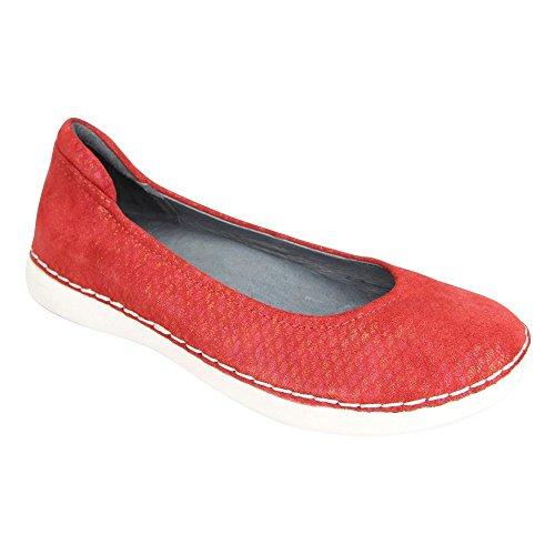 Alegria Womens Petal Cherry Ballet Flat - - Ballet Shoes Cherry