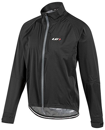 (Louis Garneau Men's Commit WP Bike Jacket, Black,)
