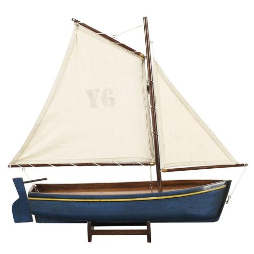 Madeira Y6 Model Ship, Blue (Authentic Models Ships)