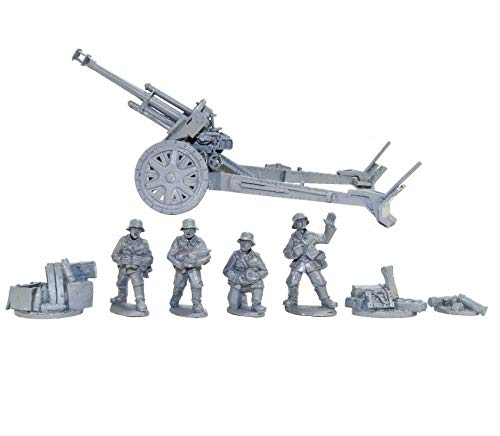 (Warlord Games, Blitzkrieg German leFH 18 10.5cm Medium Artillery (1939-42), Bolt Action Wargaming Miniatures)