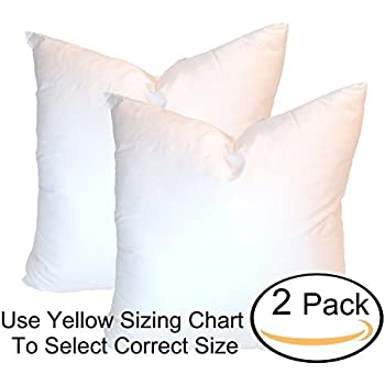 Amazon Pillowflex 40x40 Inch Premium Polyester Filled Pillow Custom 30 Inch Euro Pillow Inserts
