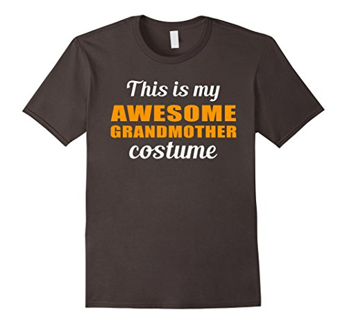 Mens This Is My Awesome Grandmother Costume T-shirt 2XL Asphalt
