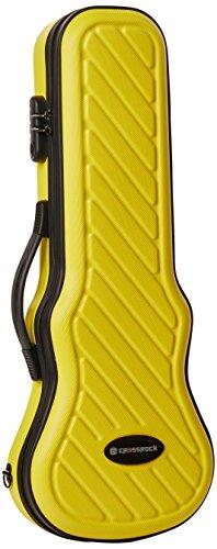 Hybrid D-ring (Crossrock CRA400SUYL Hybrid ABS Soprano Ukulele Case, Yellow)