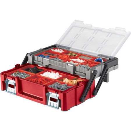 """18"""" Cantilever Toolbox, Red Review"""
