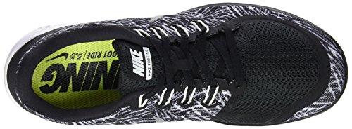 Nike Women's Free 5.0+ Laufschuh Schwarz-Weiss