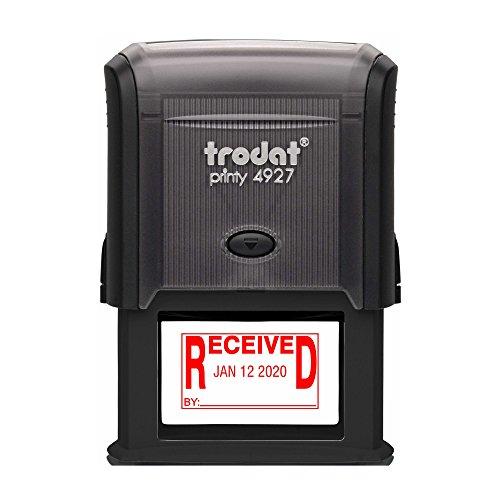 TRODAT 4729R6-R - Self-Inking Received (Solid Bold Text) ...