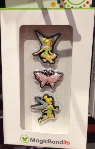 Disney Parks Tinkerbell Magic Band Bandits Set of 3 Charms NEW -