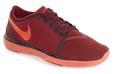 Nike 818062-601, Zapatillas de Deporte Mujer Rojo (Noble Red / Bright Crimson-Night Maroon)