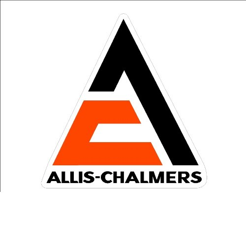 - Signs By Woody#19b Large Allis-Chalmers Window Decal