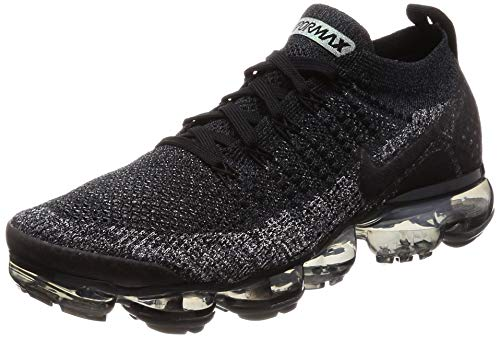 Nike Men's Air Vapormax Flyknit 2 Running Shoes (9.5, Black/Anthracite) ()