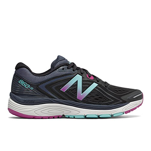 860 NBx New Trainer Balance Schwarz Poisonberry V8 Damen tqpRB