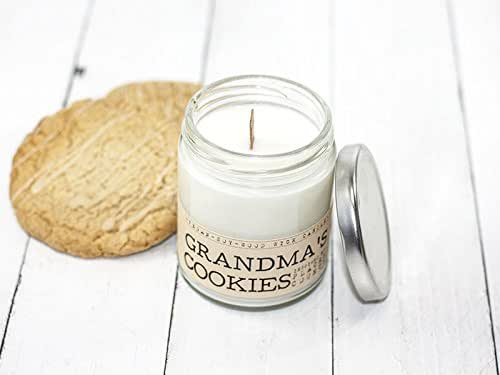 Amazon Com Grandma S Cookies Wood Wick Candle Vegan Soy
