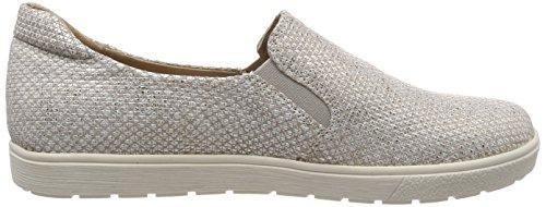 Loafers CAPRICE Grey 24662 Struct Grey Women''s 206 Lt wzH1Pq4z