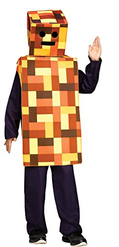 Fun World Robot Monster Child Costume (Large, Orange) ()
