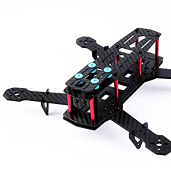 yks carbon fiber mini 250 quadcopter frame kit