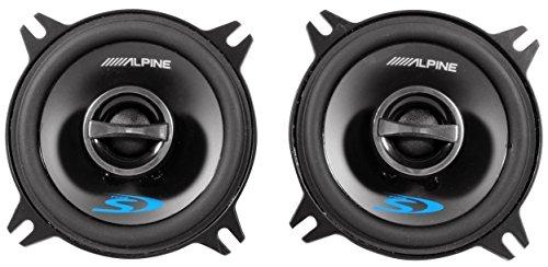 (2) Pairs of Alpine SPS-410 4' 2 Way Car Speakers Totaling 560 Watt Peak / 180 Watt RMS