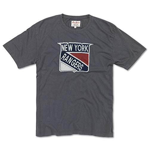 Red Jacket Men's Brass Tacks 16 NHL Short Sleeve T Shirt, New York Rangers, M