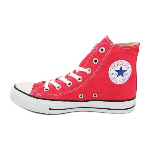 Converse Chuck Taylor All Star Speciality Hi - Botines de lona unisex Rosa (Frambuesa)