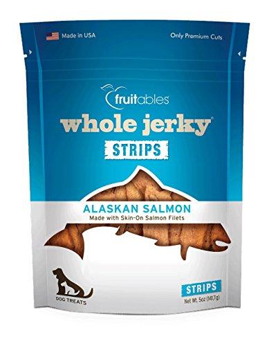 (Fruitables Whole Jerky Alaskan Salmon Dog Treats)