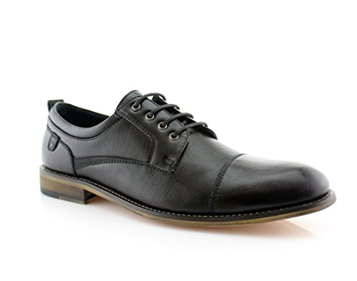 Damian MFA19603L Wing Tip Lace Up Leather Lining Oxford Dress Shoes