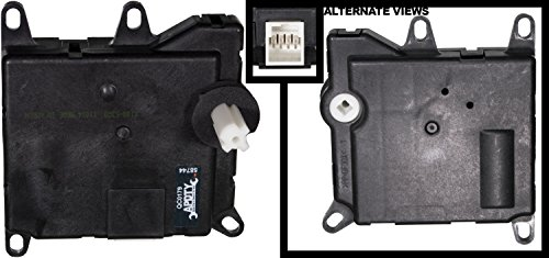APDTY 715316 HVAC Air Door Actuator Main Position Manual Temp Control Fits Select 1997-2004 Ford & Lincoln Models (See Description For Details; Replaces 2L3Z19E616BA, F65Z19E616AB, (Control Actuator)