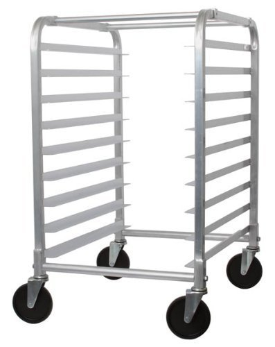 Bun Pan Rack 9-Tier, W/ 9 Full Size Bun Pans, Aluminum, Restaurant Supplies