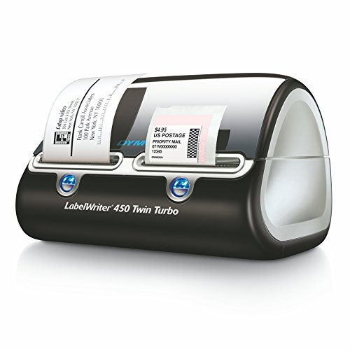 Dymo label writer 450 twin turbo label printer 71 labels for Dymo labelwriter 450 turbo labels