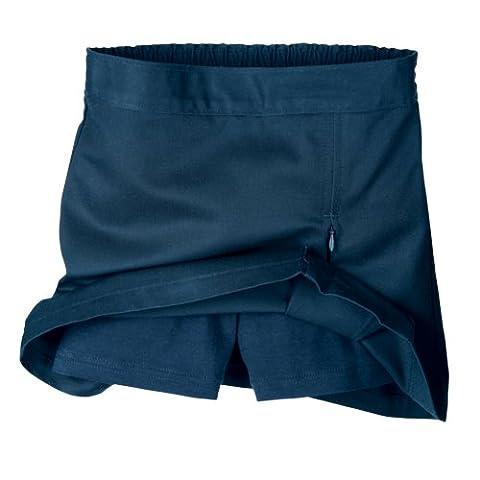 Dickies Little Girls' Convertible Pleat Scooter,Dark Navy,6X Regular - Dickies Pleats Skirt