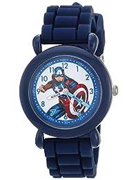 Reloj analógico de cuarzo con correa de nailon, color azul, 20 (Modelo: WMA000233)