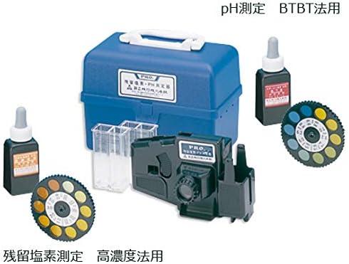 ナビス 水質検査器 高濃度+pH 2-5819-02