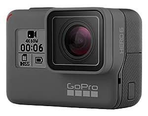 GoPro Hero 6, Cámara de Acción, 4K, 60 FPS, 1080p, color Negro, CHDHX-601-RW