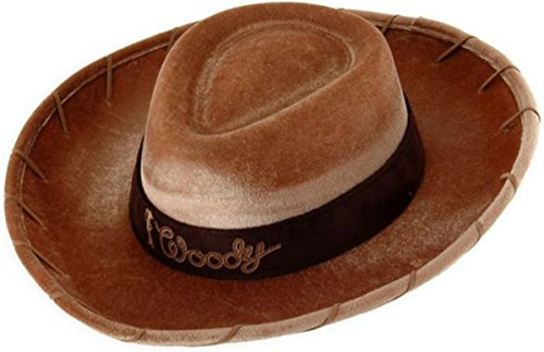 [Costumes For All Occasions Ellk8608 Toy Story Woody Hat Kids] (Woody Costume Hat)