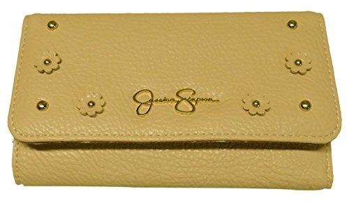 Jessica Simpson Women's Lorelei Tri Fold Wallet, Powder Blush
