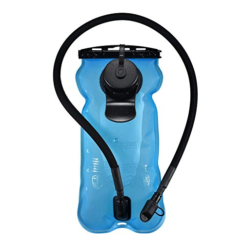 Hydration Bladder 3L 3litres 100oz, Anti-microbial Material, BPA Free Tasteless for Camel Hydration Pack System, Large Opening Easy to Clean and Full Water Reservoir for Hiking Biking Climbing Cycling