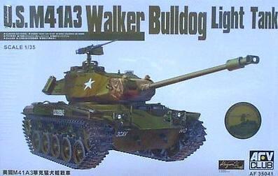 - M-41 A3 Walker Bulldog 1-35 AFV Club